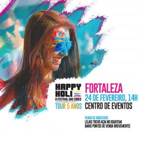 Happy Holi Tour 5 Anos
